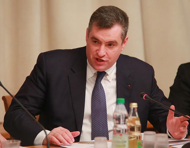 Леонид Слуцкий: «Кража нашей госсимволики – это возмутительно»
