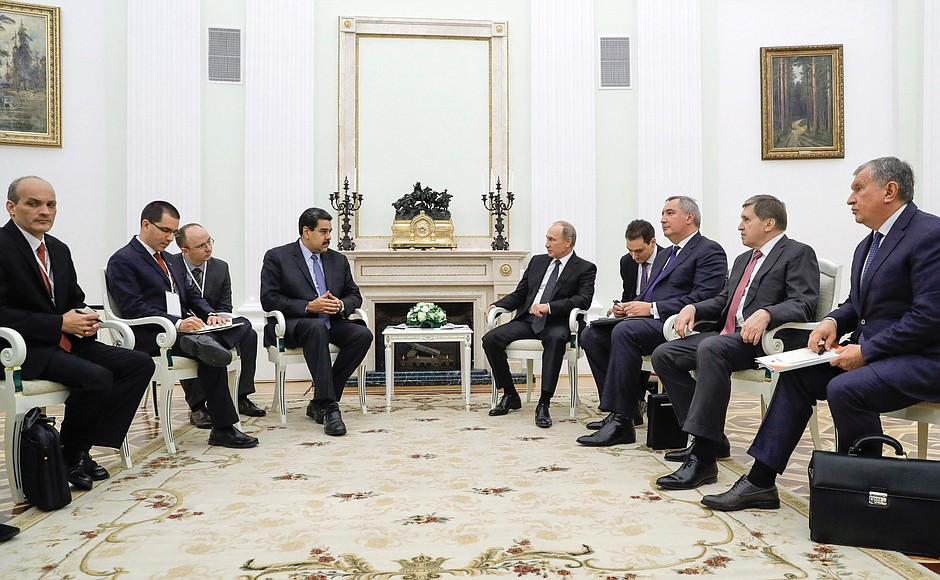 Российско-венесуэльские переговоры