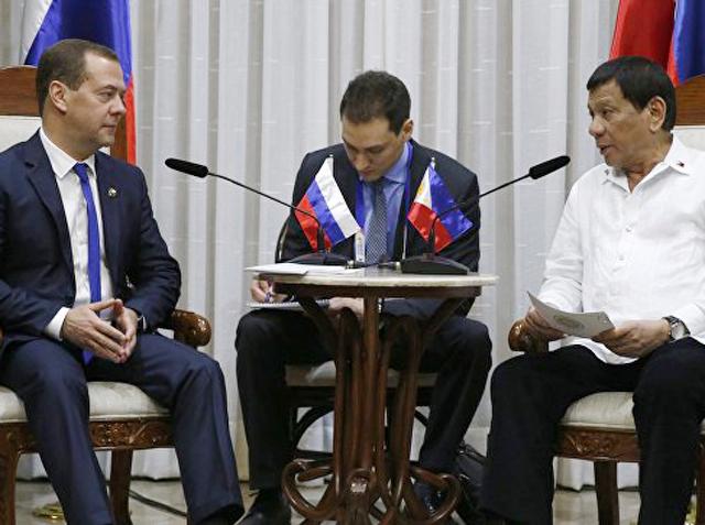 Россия и Филиппины приняли ряд совместных документов