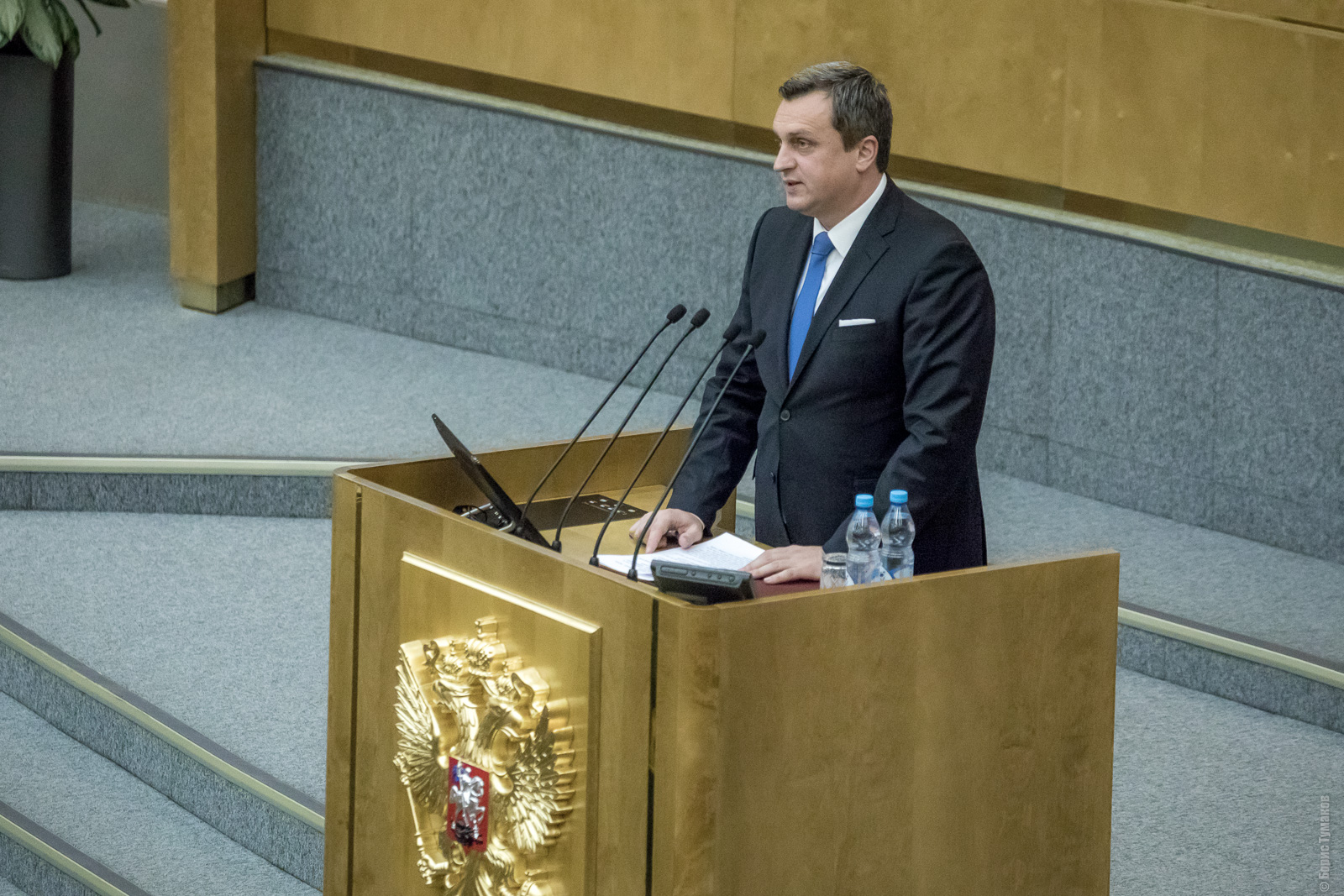 Глава парламента Словакии выступил на пленарном заседании Госдумы