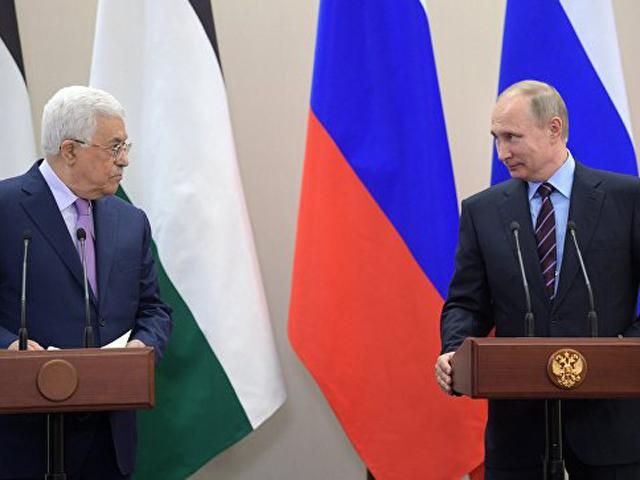 Владимир Путин встретится с главой Палестины