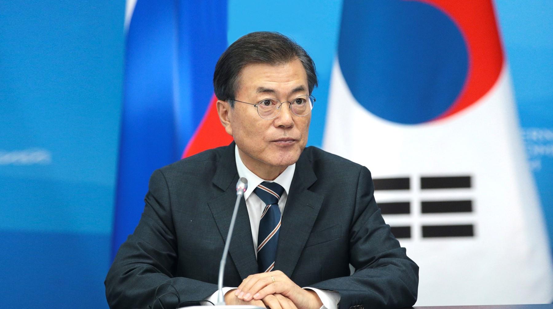 Президент Южной Кореи выступит с трибуны Госдумы 21 июня