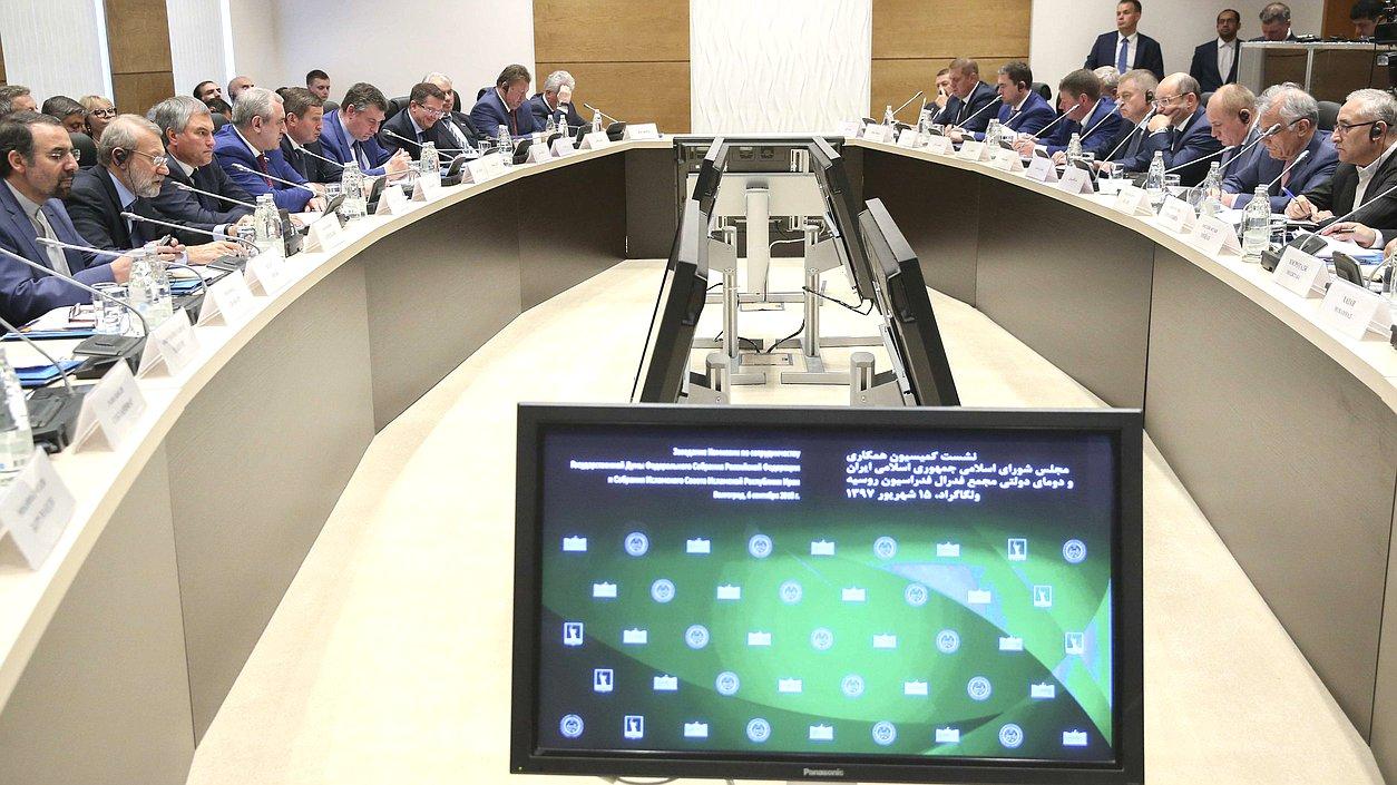 Вячеслав Володин и Али Лариджани обсудили развитие межпарламентских отношений РФ и Ирана