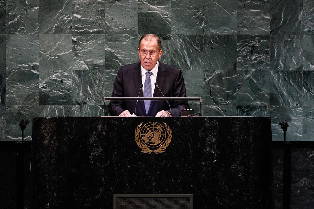 Выступление Сергея Лаврова на 73-й сессии Генеральной Ассамблеи ООН