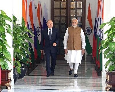Совместное заявление Президента Российской Федерации В.В.Путина и  Премьер-министра Республики Индии Н.Моди 51e0f8405da41