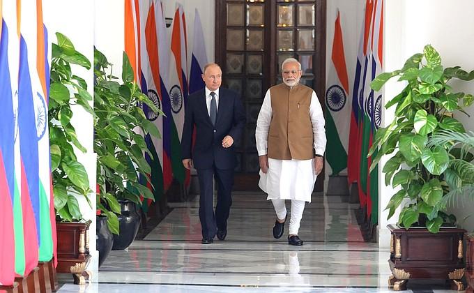 «Россия – Индия: надежное партнерство в меняющемся мире». Совместное заявление Президента Российской Федерации В.В.Путина и Премьер-министра Республики Индии Н.Моди