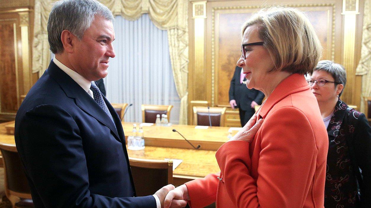 Председатель парламента Финляндии: мы намерены делать все возможное для сохранения России в качестве члена СЕ
