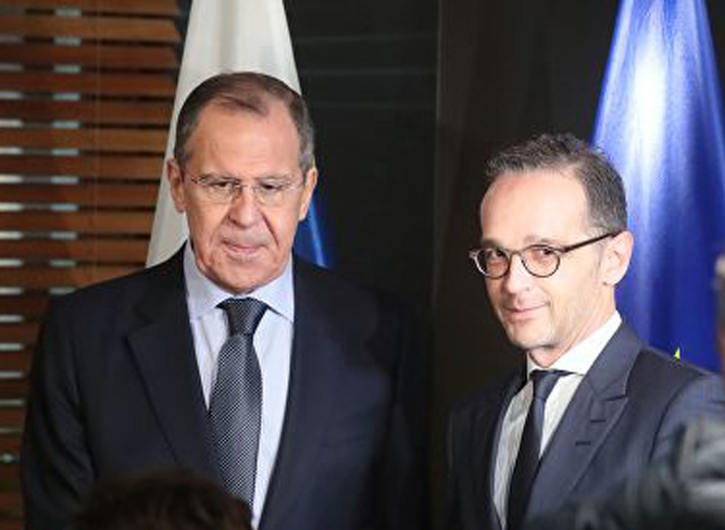 Сергей Лавров и Хайко Маас проводят встречу на Мюнхенской конференции по безопасности
