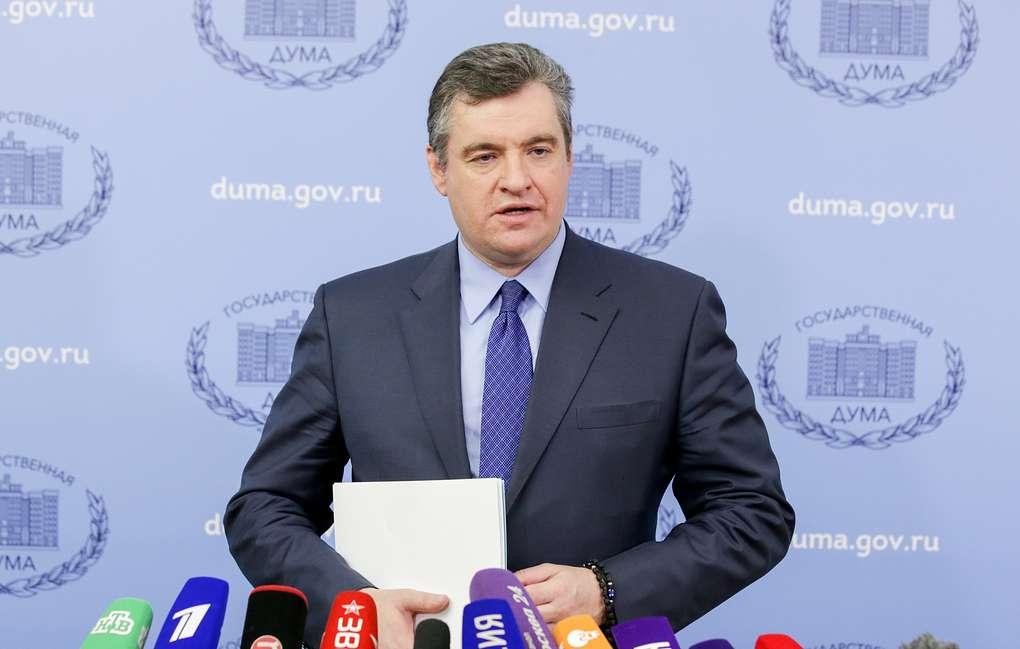 Леонид Слуцкий о выступлении Дональда Туска в Верховной Раде: «Это предательство собственной страны»