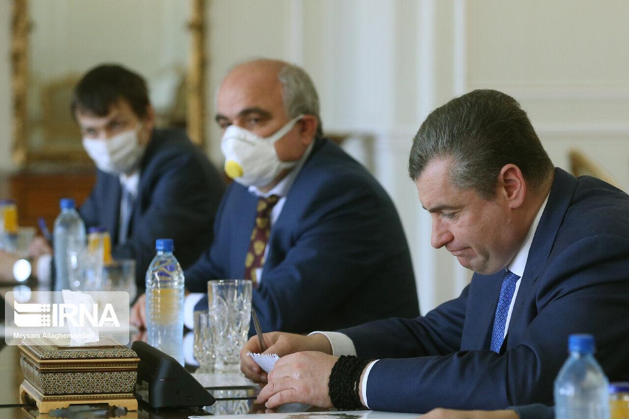 Леонид Слуцкий обсудил с Мохаммадом Джавадом Зарифом двустороннее сотрудничество и ситуацию на Ближнем Востоке