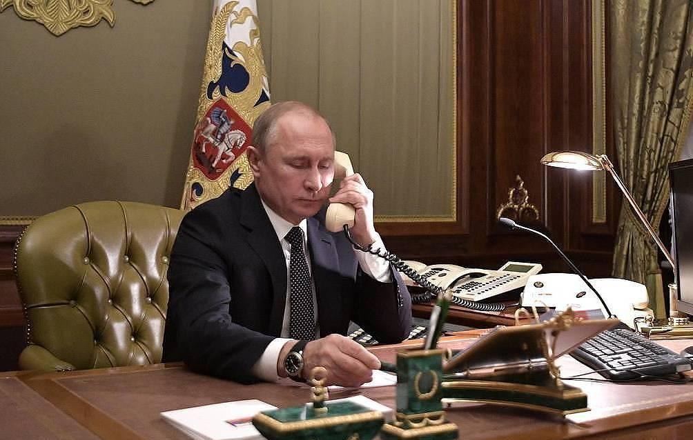 Состоялся телефонный разговор Владимира Путина с Федеральным канцлером Германии Ангелой Меркель