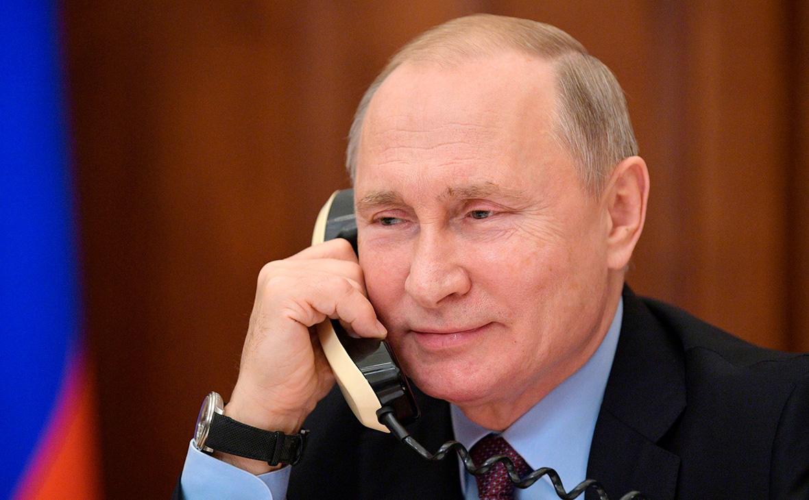 Телефонный разговор Владимира Путина с Председателем Европейского совета Шарлем Мишелем
